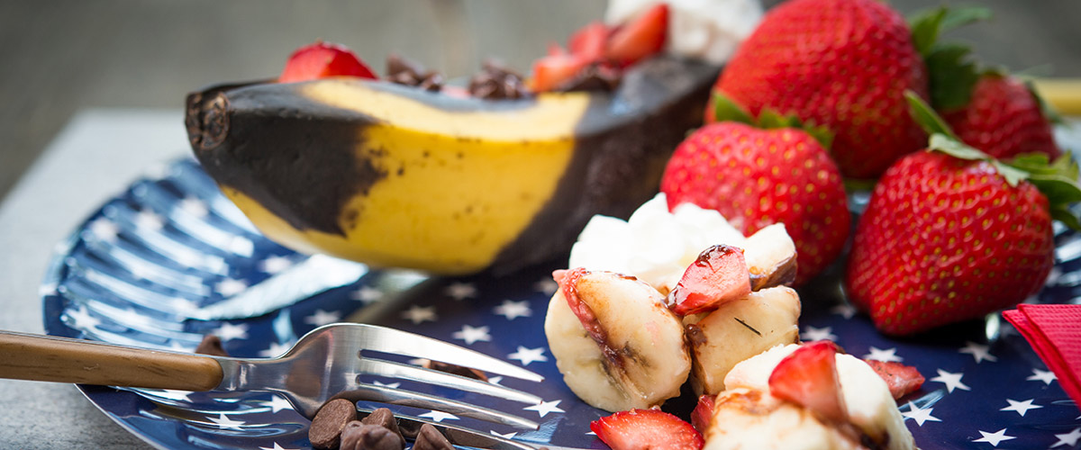 Grilled Banana Split Recipe