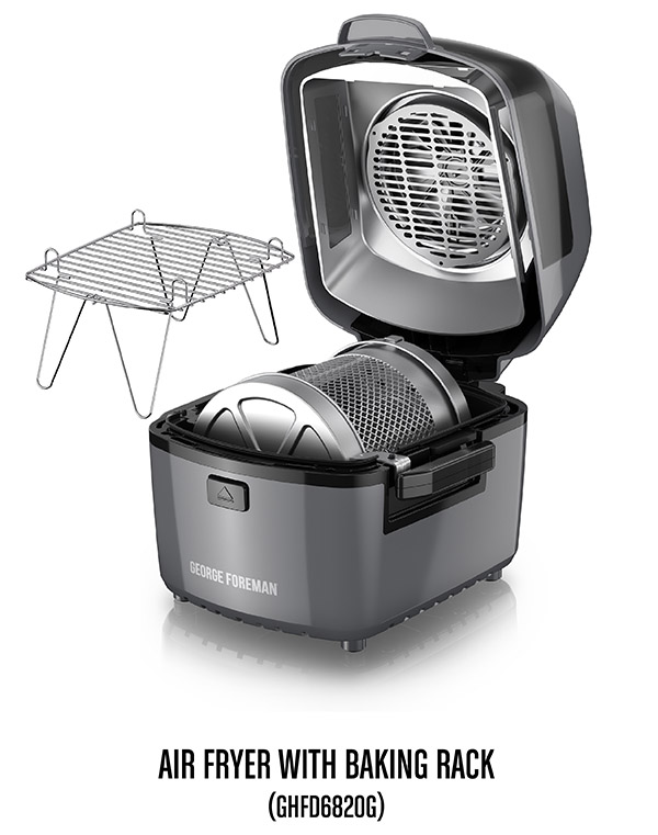 air frier grey