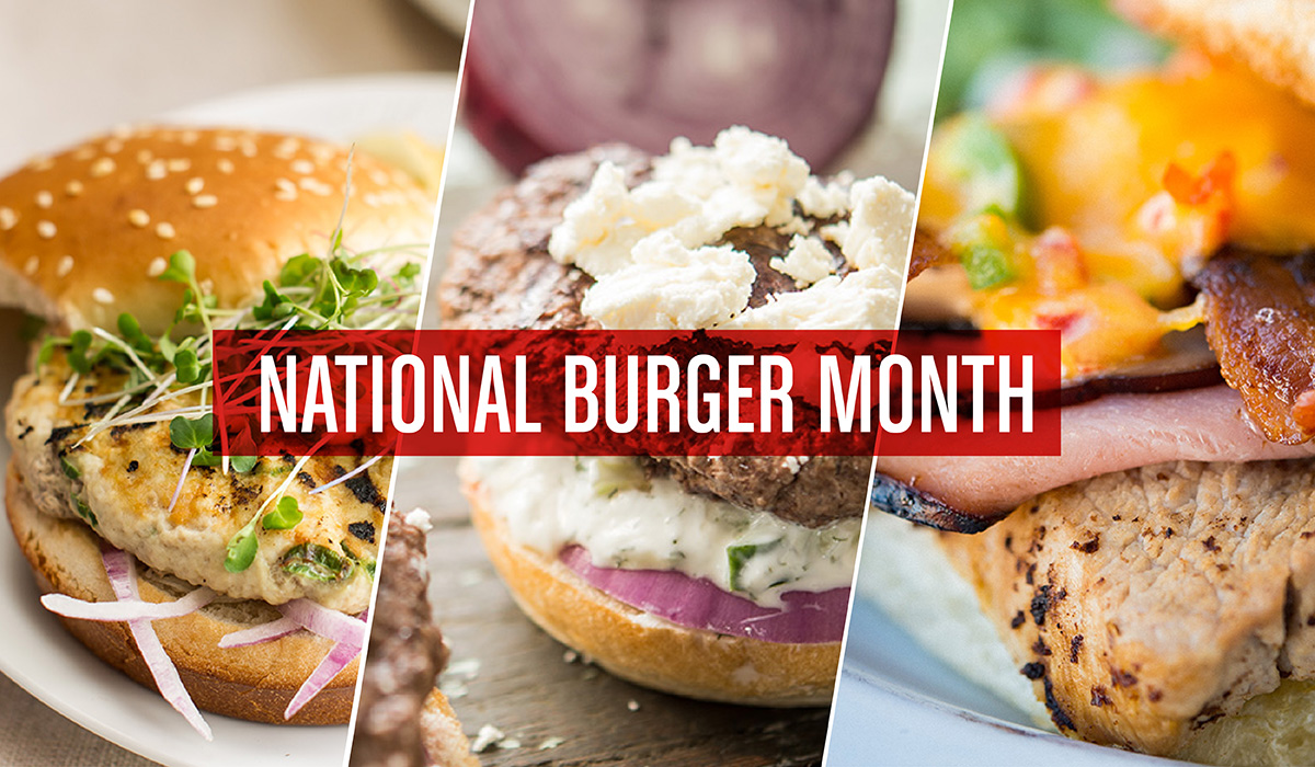 George Foreman Tips & National Burger Month Blog Post Header