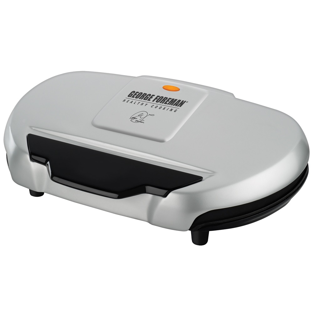 George foreman grand champ grill gr144 silver grill large grill electric grilling - Buy george foreman grill ...