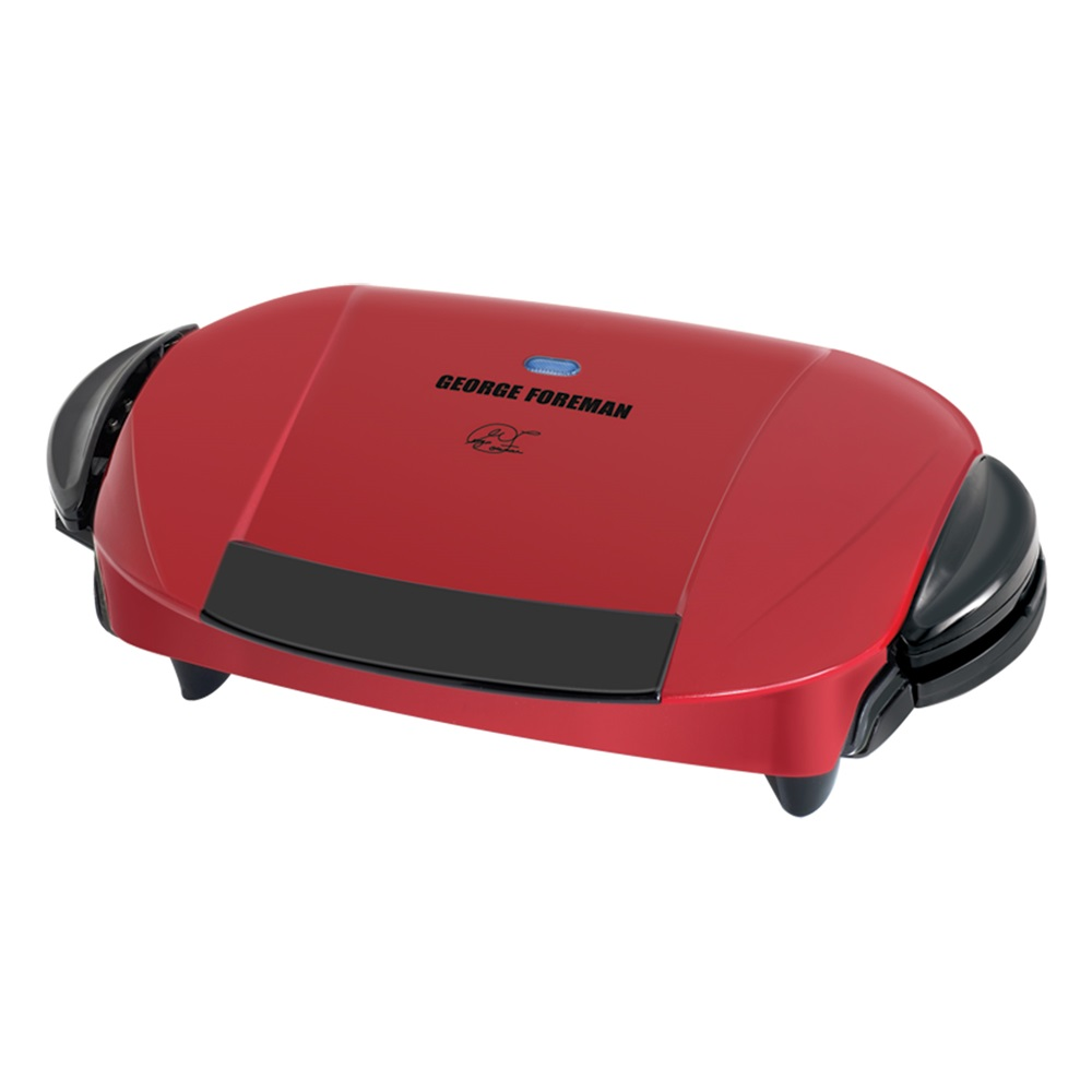 George foreman the next grilleration grp0004r red grill - Largest george foreman grill with removable plates ...