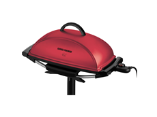 George Foreman 13 serving indoor/outdoor grill GGR201RCDR Red Grill Jumbo Grill outdoor grilling