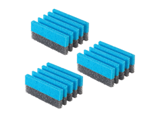 George Foreman 3 Pack Grill Cleaning Sponges GFSP3 Cleaning a Grill