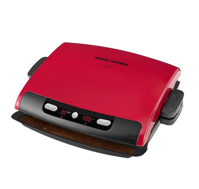 George foreman 6 serving removable plate grill grp95r red - Largest george foreman grill with removable plates ...